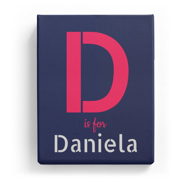 D is for Daniela - Stylistic