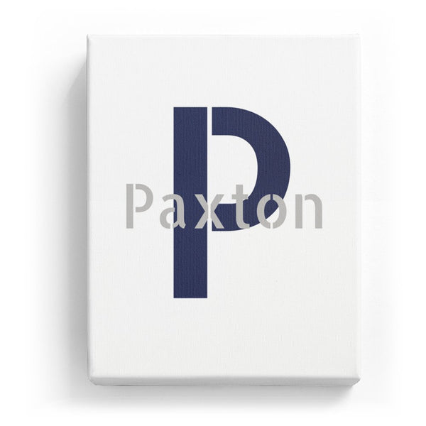 Paxton Overlaid on P - Stylistic