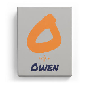 O is for Owen - Artistic