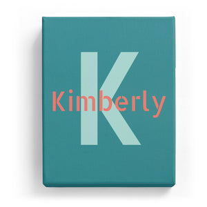 Kimberly Overlaid on K - Stylistic