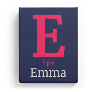 E is for Emma - Classic