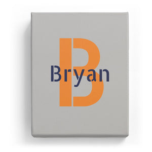 Bryan Overlaid on B - Stylistic