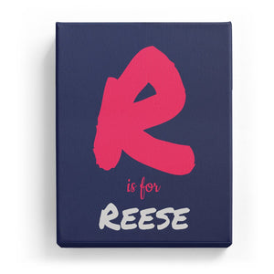 R is for Reese - Artistic