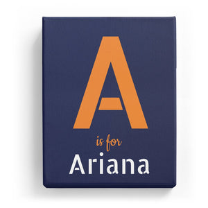 A is for Ariana - Stylistic