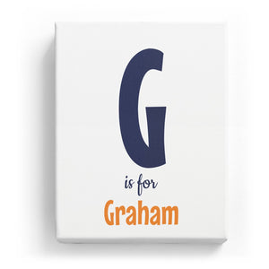 G is for Graham - Cartoony