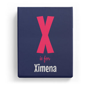 X is for Ximena - Cartoony