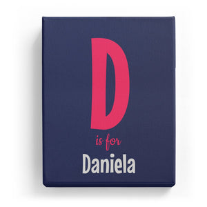 D is for Daniela - Cartoony