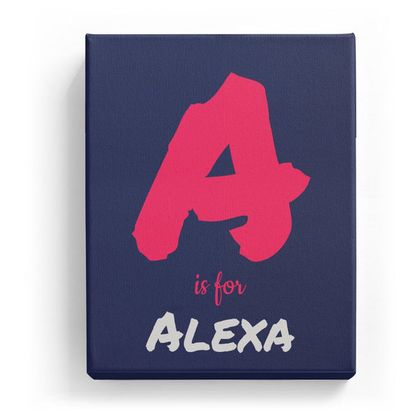 A is for Alexa - Artistic