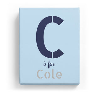 C is for Cole - Stylistic