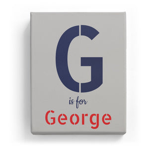 G is for George - Stylistic