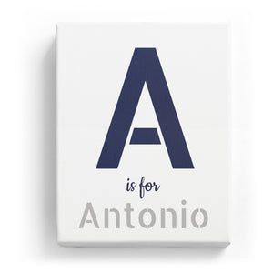 A is for Antonio - Stylistic