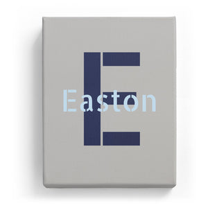 Easton Overlaid on E - Stylistic