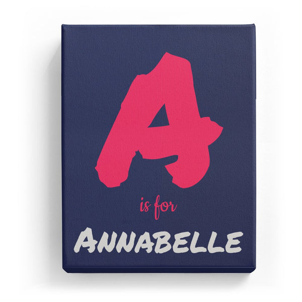 A is for Annabelle - Artistic