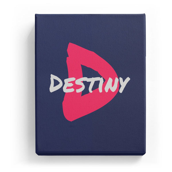 Destiny Overlaid on D - Artistic