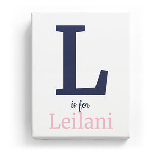 L is for Leilani - Classic