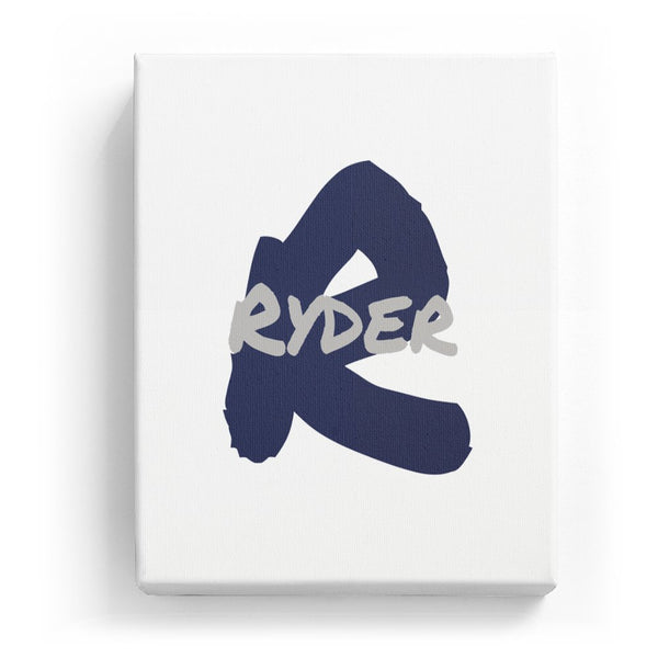 Ryder Overlaid on R - Artistic