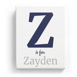 Z is for Zayden - Classic