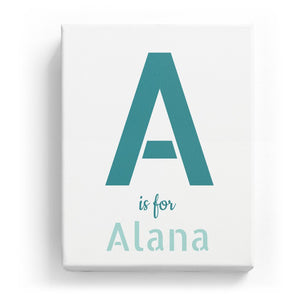 A is for Alana - Stylistic