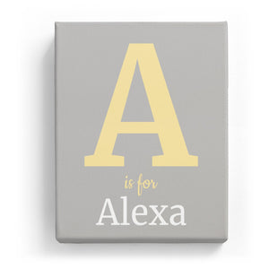 A is for Alexa - Classic