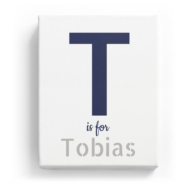 T is for Tobias - Stylistic