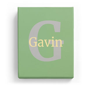 Gavin Overlaid on G - Classic