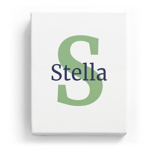 Stella Overlaid on S - Classic