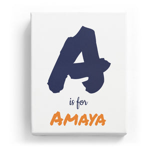 A is for Amaya - Artistic