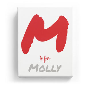 M is for Molly - Artistic