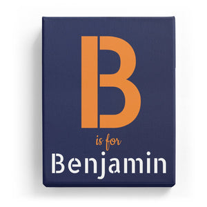 B is for Benjamin - Stylistic