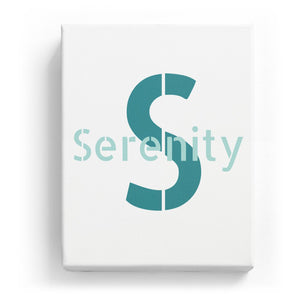 Serenity Overlaid on S - Stylistic