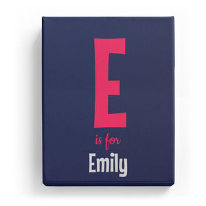 E is for Emily - Cartoony