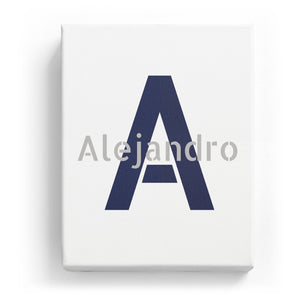 Alejandro Overlaid on A - Stylistic