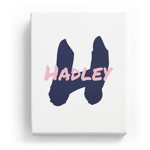 Hadley Overlaid on H - Artistic