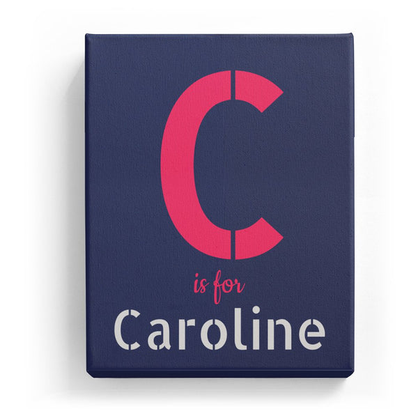 C is for Caroline - Stylistic