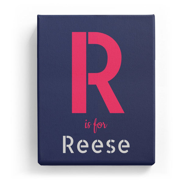 R is for Reese - Stylistic