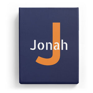 Jonah Overlaid on J - Stylistic