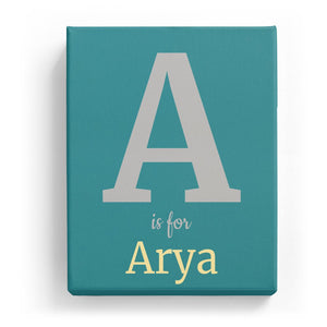 A is for Arya - Classic