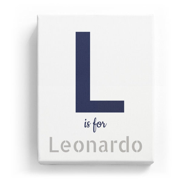 L is for Leonardo - Stylistic