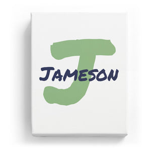 Jameson Overlaid on J - Artistic