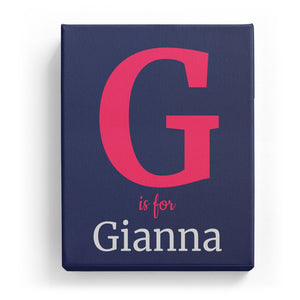 G is for Gianna - Classic