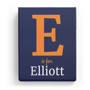 E is for Elliott - Classic