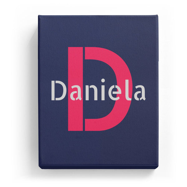 Daniela Overlaid on D - Stylistic