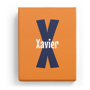 Xavier Overlaid on X - Cartoony