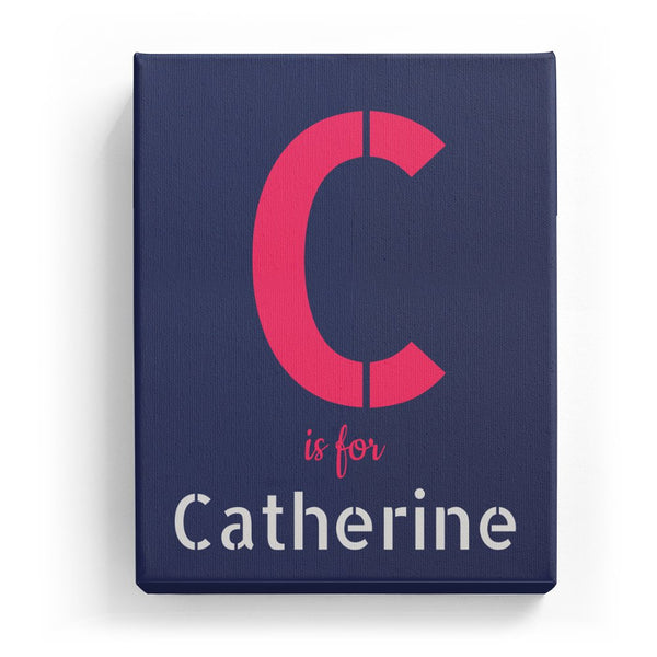 C is for Catherine - Stylistic