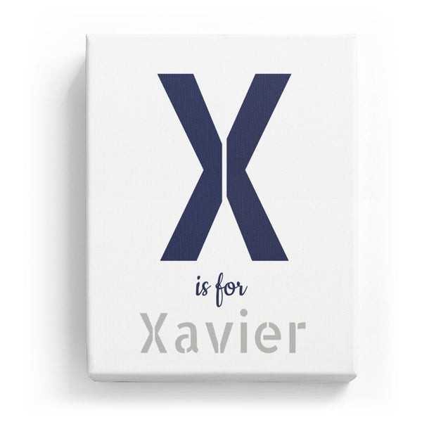 X is for Xavier - Stylistic