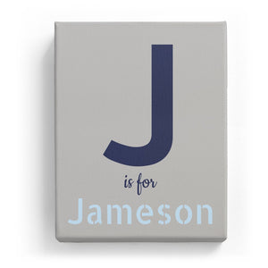 J is for Jameson - Stylistic