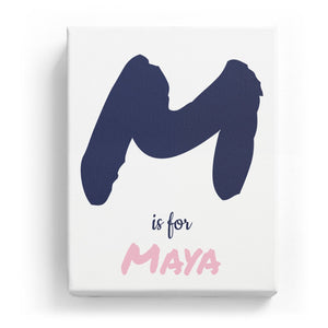 M is for Maya - Artistic