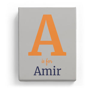 A is for Amir - Classic