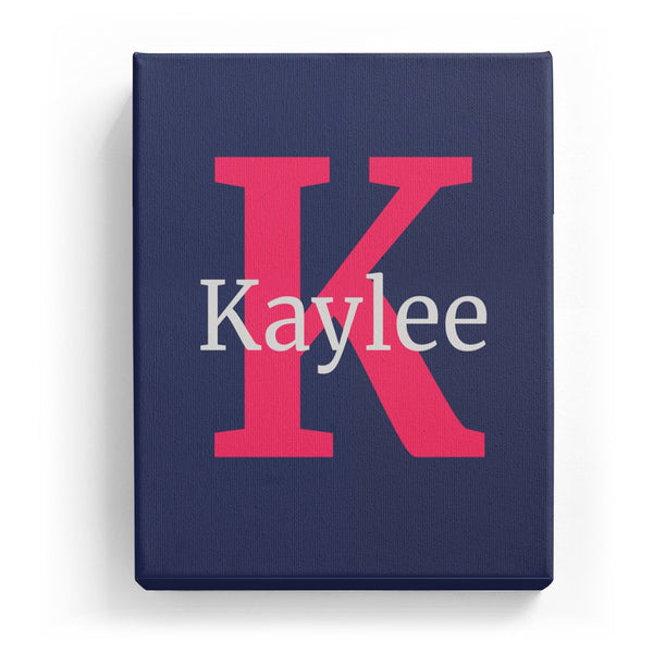 Kaylee Overlaid on K - Classic