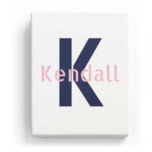 Kendall Overlaid on K - Stylistic